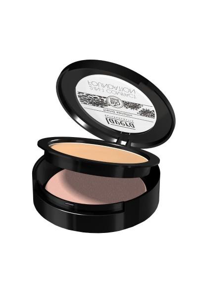 Púdrový make-up Lavera odtieň med