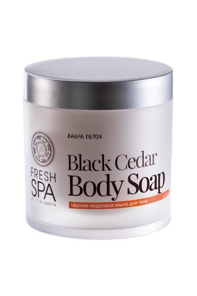 Telove mydlo hĺbkovo čistiace - Čierny Céder 400 ml