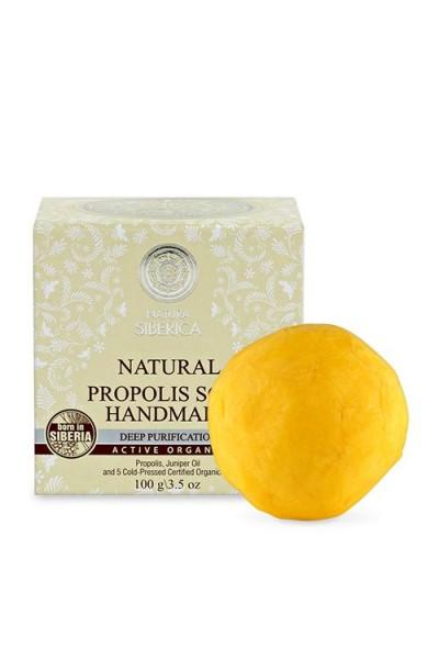 Prírodné ručne robené mydlo s propolisom 100 g
