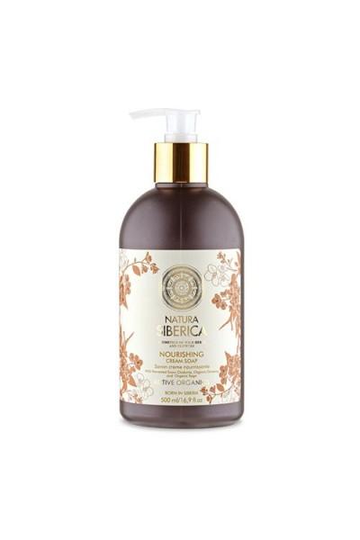 Prírodné výživné krémové mydlo 500 ml