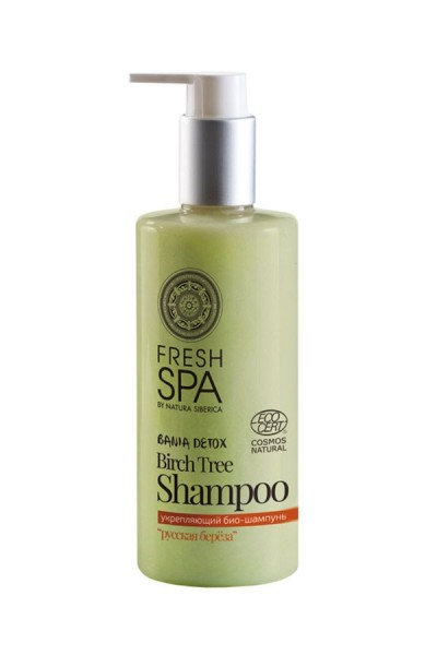 Prírodný posilňujúci šampón na vlasy Breza 300 ml