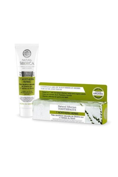 Prírodná sibírska zubná pasta bez fluoridu - 7 sibírskych bylín