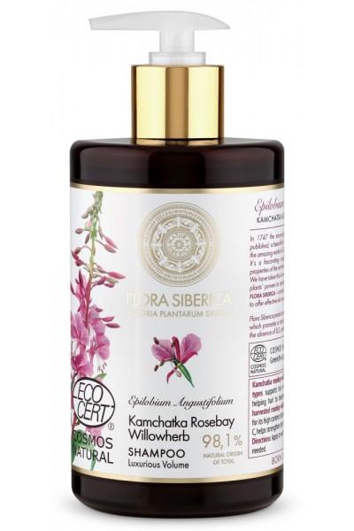 Prírodný šampón na vlasy pre luxusný objem Flora Siberica