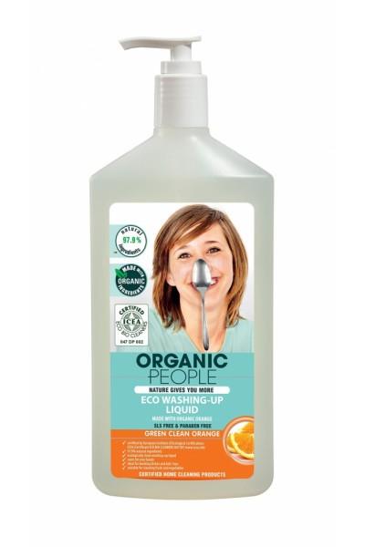 Eko gél na umývanie riadu s organickým extraktom pomaranča 500 ml