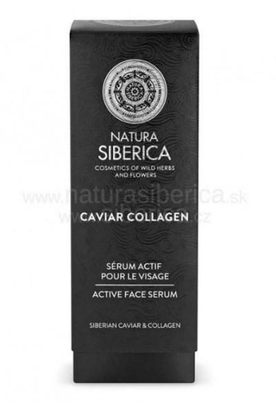 Aktívne sérum na tvár Caviar Collagen Natura Siberica 30ml