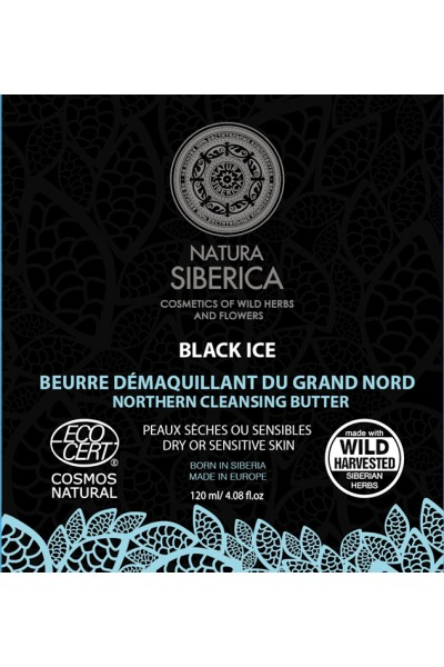 Čierne severské čistiace maslo 120 ml