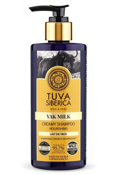 Výživný krémový šampón Tuva Siberica 300 ml