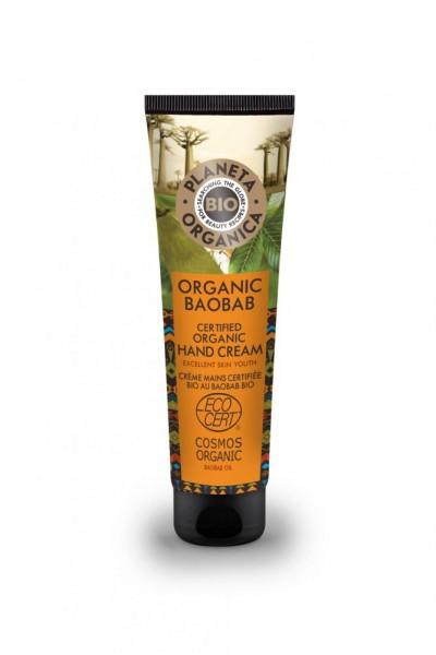 Prírodný krém na ruky s organickým Baobabom 75 ml