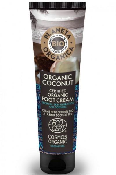 Prírodný krém na nohy Kokosový orech 75 ml