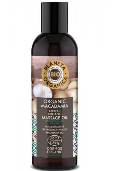 Masážny olej na telo Makadamia 200 ml