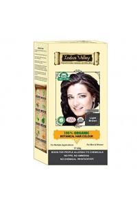 Svetlohnedá farba na vlasy Indus Valley 100%  Organická a 100% rastlinná