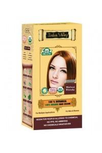 Oriešková Blond farba na vlasy Indus Valley 100%  Organická a 100% rastlinná