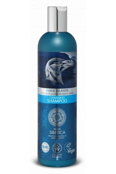 Natura Siberica Faroe Islands - Čistiaci a ošetrujúci šampón 400 ml