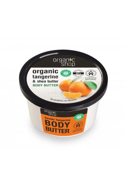 Organic Shop Organic Shop - Telové maslo Sevillská mandarinka 250 ml 250 ml