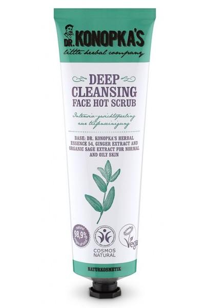 Dr. Konopka´s Dr.Konopka´S - Teplý hĺbkovo čistiaci pleťový peeling 75 ml 75 ml