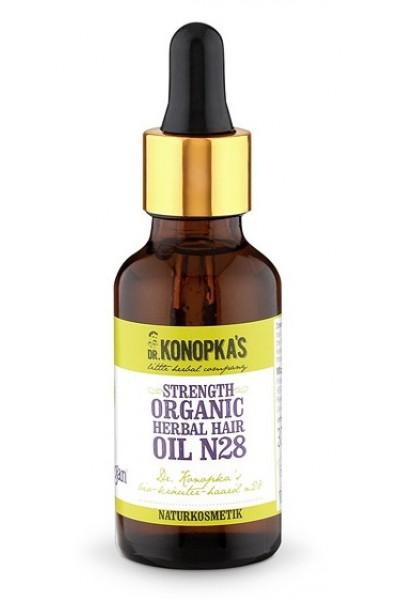 Dr. Konopka´s Dr.Konopka´S - Bylinný olej na vlasy  pre posilnenie vlasov č. 28, 30 ml 30 ml
