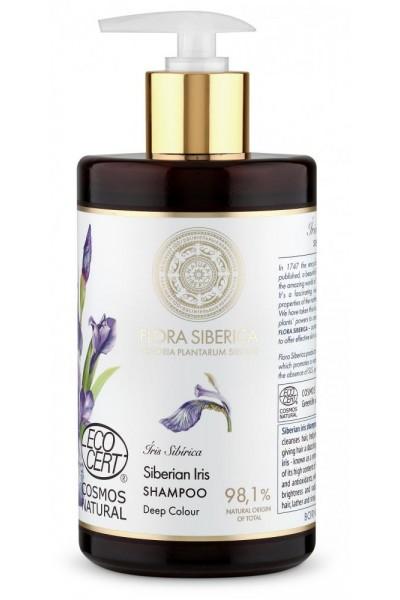 Natura Siberica Flora Siberica - Šampón na vlasy pre sýtu farbu 480 ml
