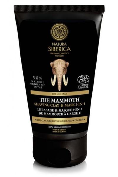 Natura Siberica Íl na holenie a maska 2 v 1 MAMUT 150 ml