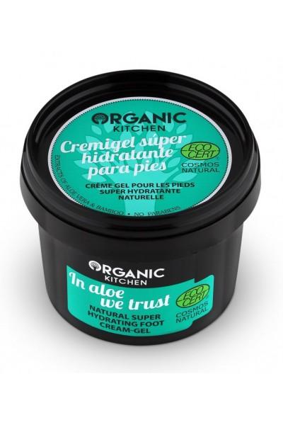 Organic Kitchen Prírodný super hydratačný nočný krémový gél - ALOE 100 ml