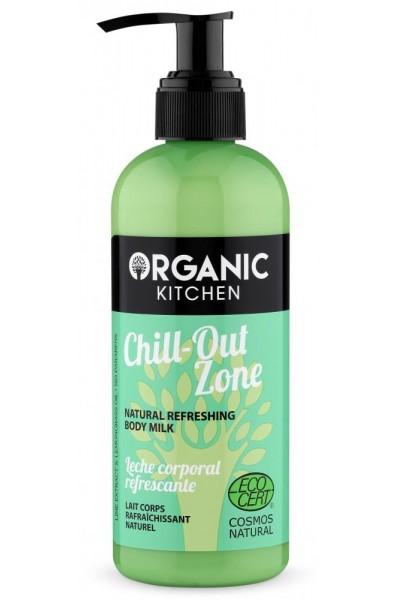 Organic Kitchen Prírodné osviežujúce telové mlieko 260 ml