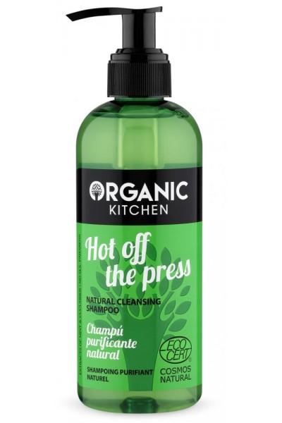 Organic Kitchen Akcia spotreba 10.10.2021  Prírodný čistiaci šampón - hot off the press 260 ml