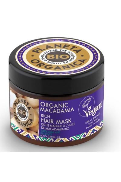 Natura Siberica Maska na vlasy Makadamia 300 ml
