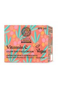 Natura Siberica Rakytník C-Berrica - Vitamin C - Žiarivý denný krém na tvár 50 ml