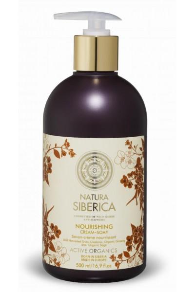 Natura Siberica Výživné krémové mydlo 500ml