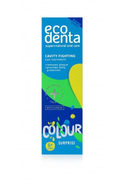 Ecodenta Detská zubná pasta Colour Surprise 75 ml 75 ml