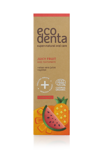 Ecodenta Detská pasta Juicy Fruit 75ml  75 ml