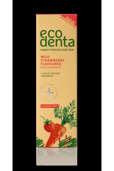 Ecodenta Detská zubná pasta s príchuťou Lesná jahoda 75 ml