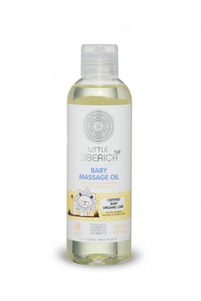 Little Siberica Detský masážny olej 200 ml