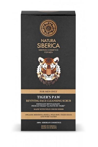 Natura Siberica Oživujúci pleťový peeling Tigria laba 150 ml