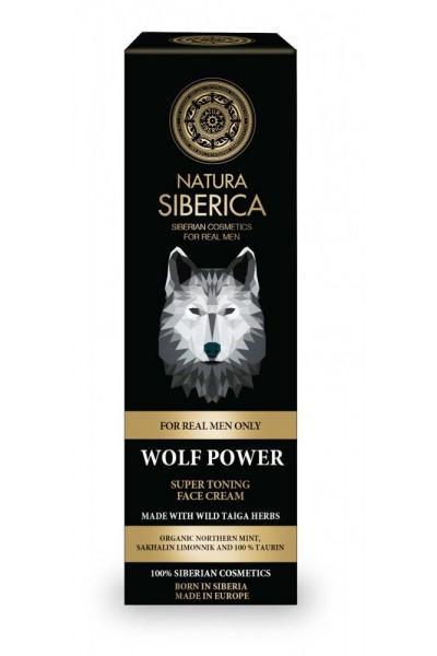 Natura Siberica Super tonizujúci krém na tvár Sila vlka 50 ml