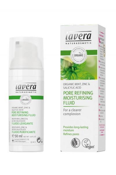 Lavera lavera Póry zjemňujúci hydratačný fluid 50ml 50 ml