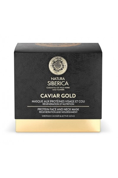 Natura Siberica Caviar Gold - Proteinová maska na tvár a krk 50ml 50 ml