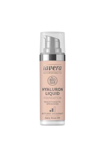 Lavera Ľahký tekutý make-up s kyselinou hyalurónovou - 00 Slonová kosť 30 ml 30 ml