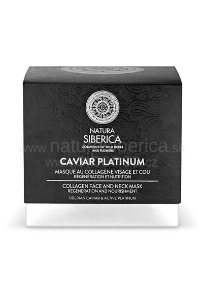 Natura Siberica Caviar platinum - Kolagénová maska na tvár a krk 50ml 50ml