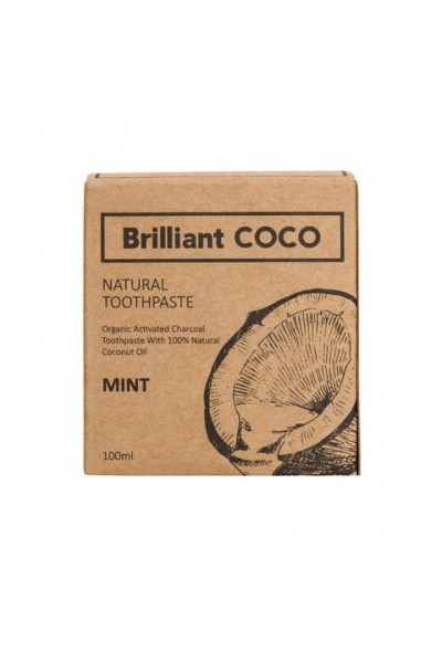 Brilliantcoco Brilliant COCO zubná pasta ZERO WASTE 100 ml