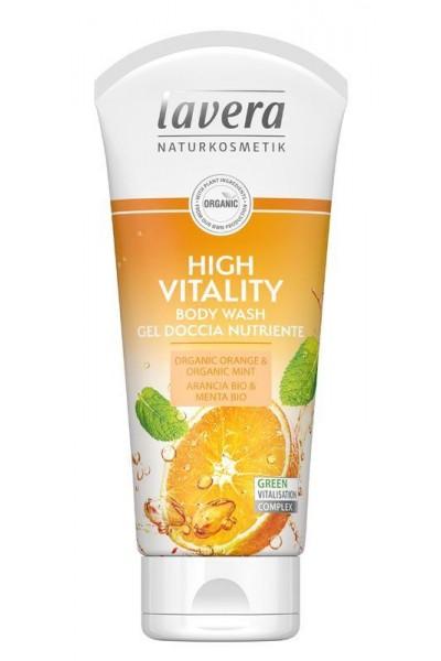 Lavera Akcia spotreba 10/2021 Sprchový gél high vitality 200 ML 200 ml