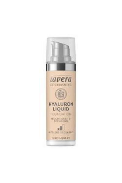 Lavera Ľahký tekutý make-up s kyselinou hyalurónovou - 01 Porcelánová 30 ml 30 ml