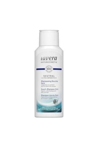 Lavera Neutral ultra sensitive sprchový šampón na telo a vlasy 2v1 200 ml 200 ml