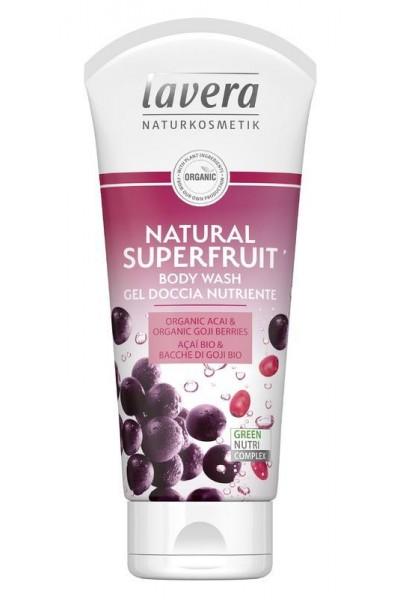 Lavera Sprchový gél natural superfruit 200 ml 200 ml