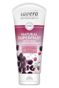 Lavera Akcia spotreba 10/2021 Sprchový gél natural superfruit 200 ml 200 ml