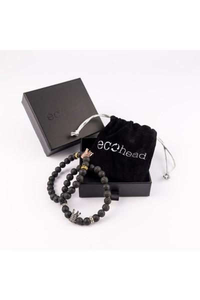 Ecohead Náramok - Double Royal s krabičkou gift box