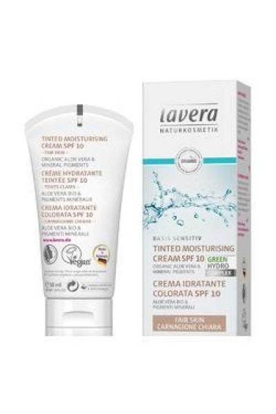 Lavera Basis tónovací hydratačný krém - svetlý 50 ml 50 ml