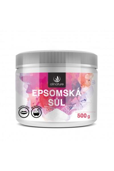 Allnature Epsomská soľ 500 g 500 g
