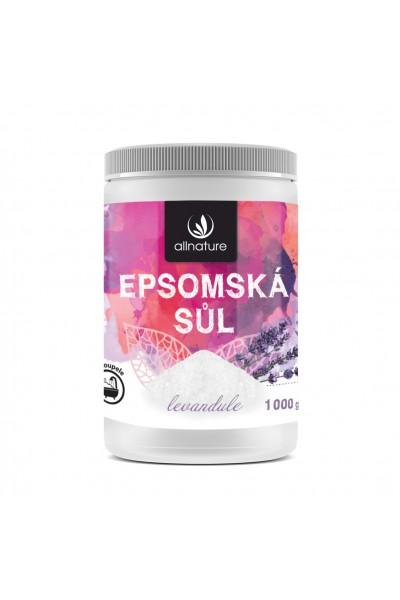 Allnature Epsomská soľ Levanduľa 1000 g 1000 g