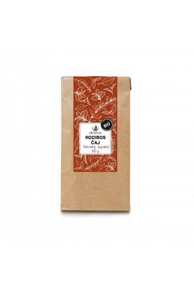 Allnature Rooibos čaj červený sypaný BIO 50 g 50 g
