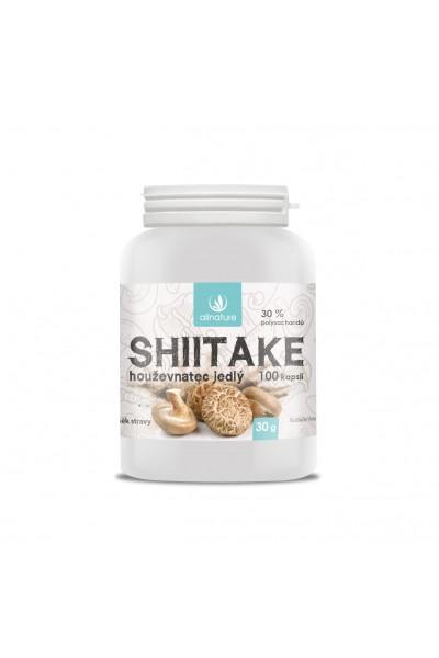 Allnature Shiitake kapsule 100 kps. 100 kps.